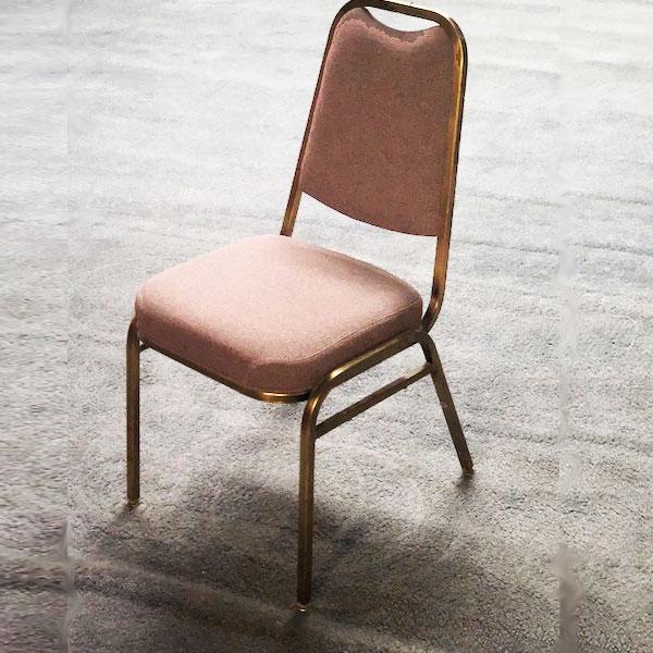 Salmon Padded Chair