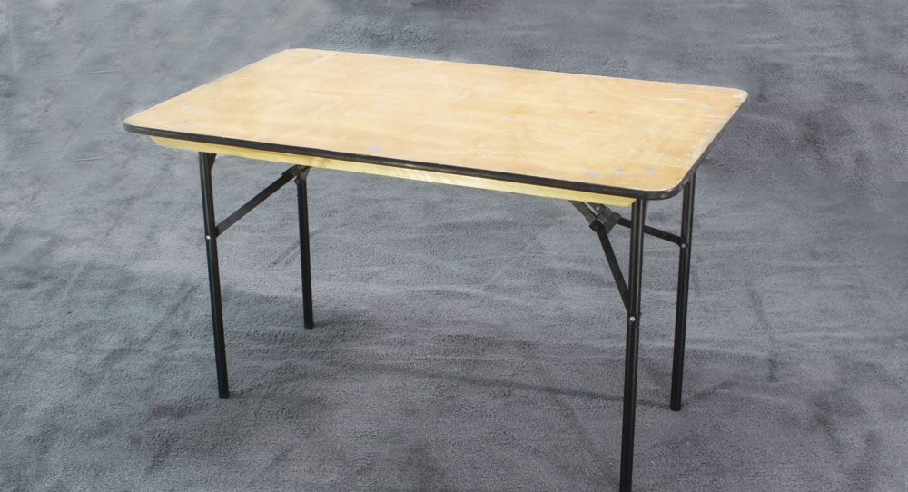 4' Wood Table