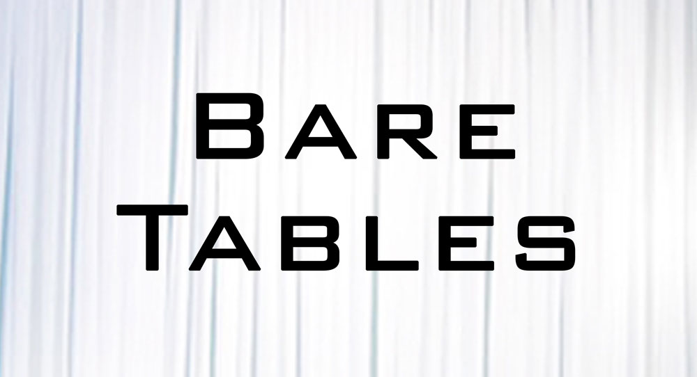 Available Bare Tables